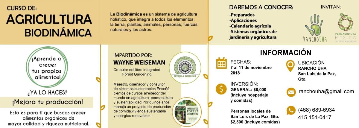 Curso de Agricultura Biodinámica