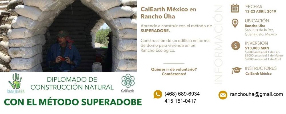 Diplomado de Construcción Natural con Superadobe